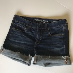 American Eagle Outfitters super stretch cut offs